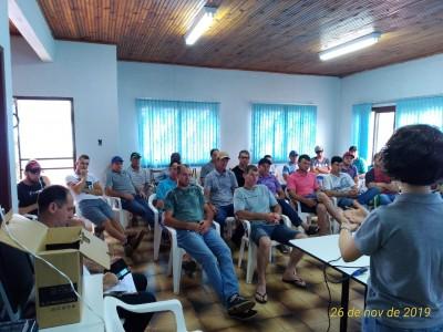 Encontro sobre rastreabilidade em Planalto
