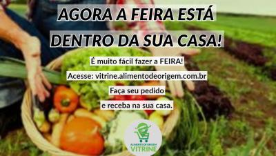 Produção de alimentos locais e saudáveis formando uma rede direta e segura, da origem até o consumo.